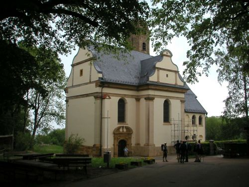 pilgrimage church of st mary st mary's church hohenrechberg