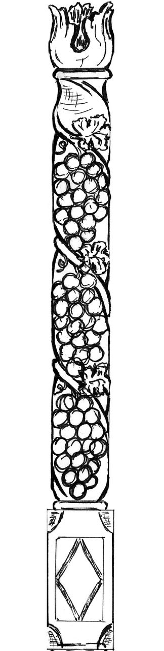 pillar ornament capital