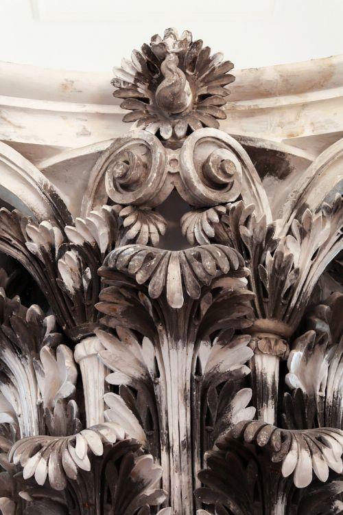 pillar detail monumental roman