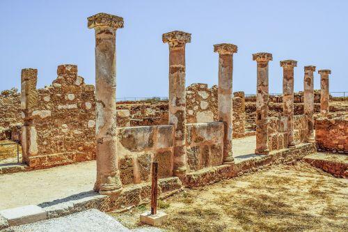 pillars columns remains