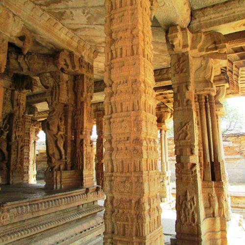 pillars sculpture stone pillars