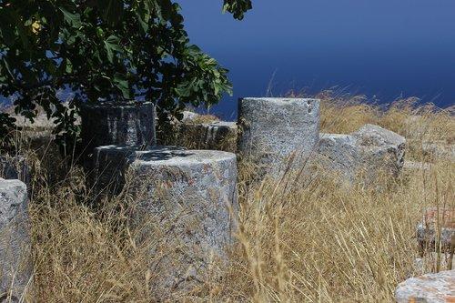 pillars  ancient  pillar