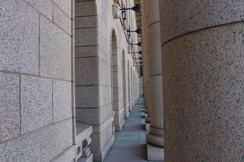 pillars stone architectural