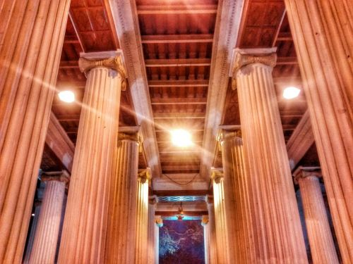 pillars vintage architecture