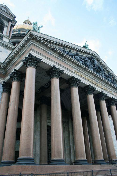 Pillars, St Isaac's Cathedral