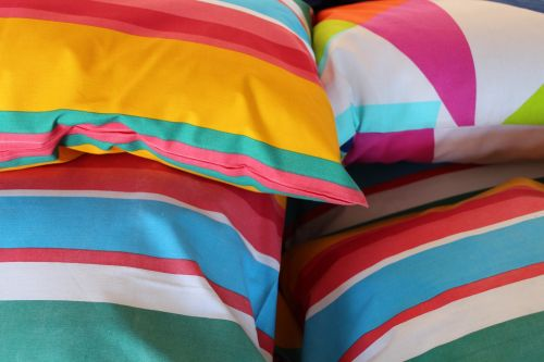 pillow reference colorful