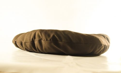 pillow bronze material