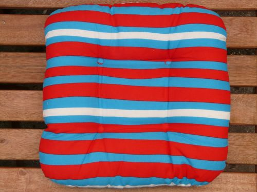 pillow seat cushions garden bench