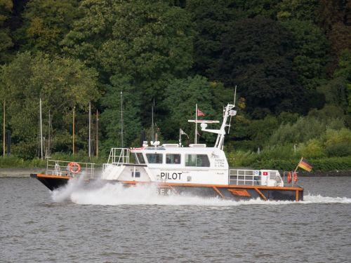 pilot pilot boat hamburg
