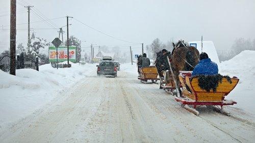 pimp my sleigh  winter  way