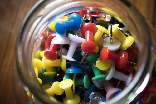 pin  needle  white