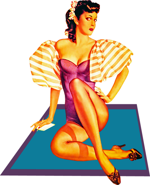 pin up girl  woman  sexy