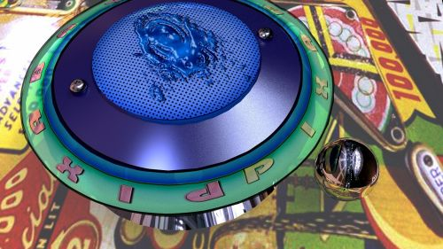 pinball game pinball machine bumper