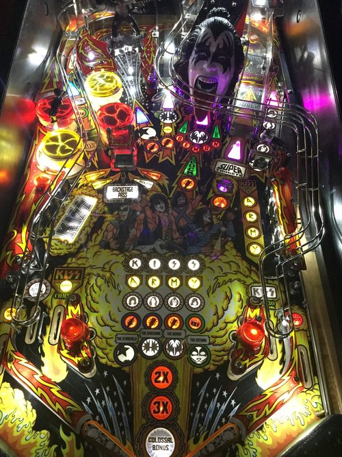pinball led  pinball mods  pinball pop bumpers