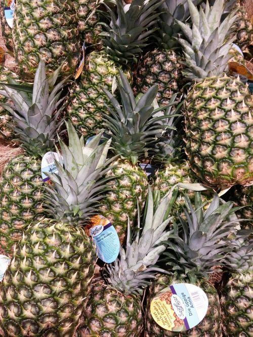 pineapple fruits fruit