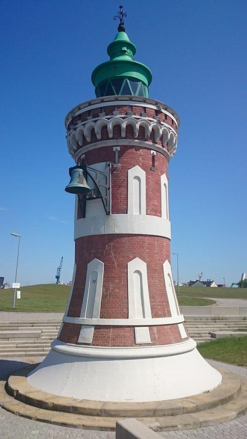 pingelturm lighthouse bremerhaven