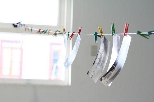 pinhole photography drying rack