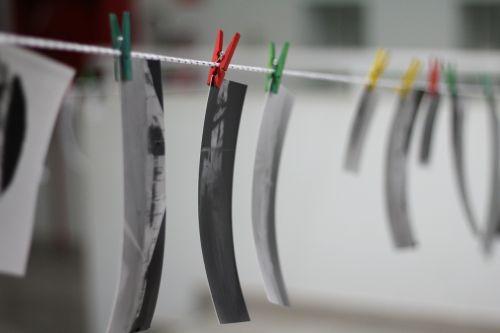pinhole drying rack photography