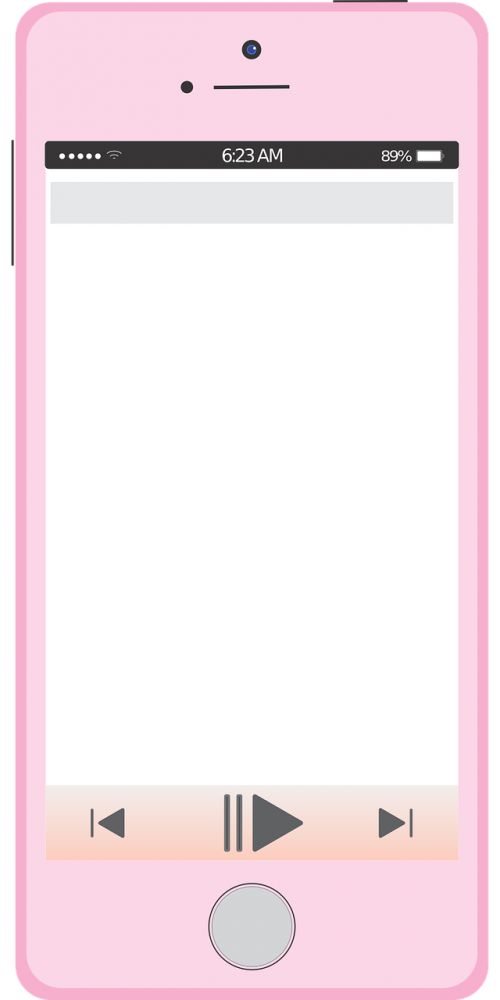 iphone pink apple