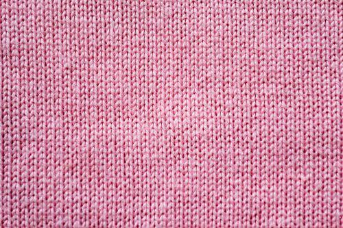 pink textile coat