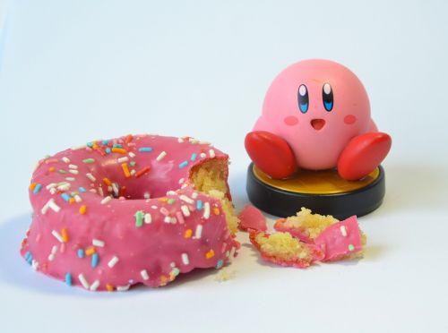 pink rosa donuts