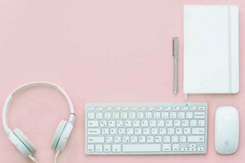 pink lifestyle headphones