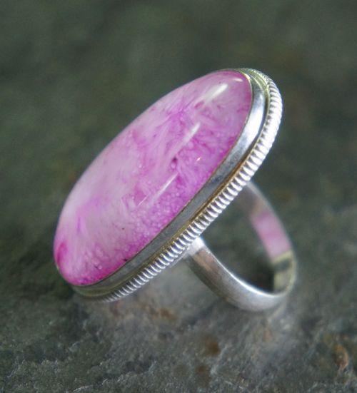 pink quartz agate