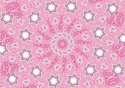 Pink Abstraction Background