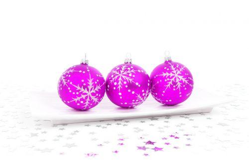 Pink Bauble Decoration