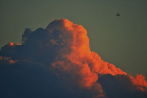 pink cloud cloud cumulus