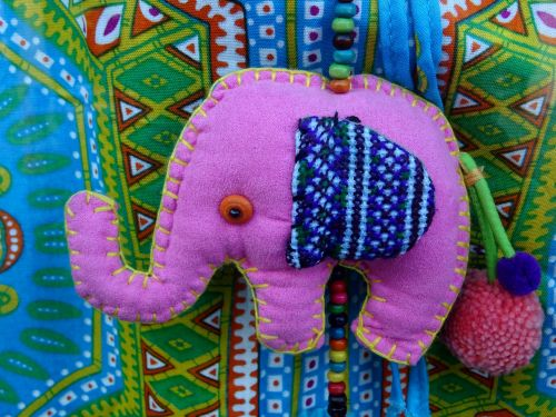 Pink Elephant Decoration
