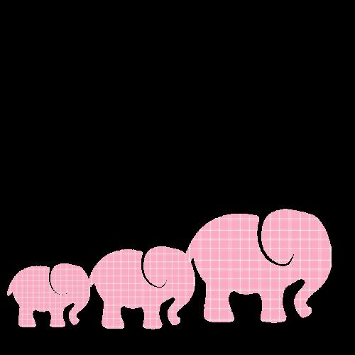 pink elephants baby elephants elephants
