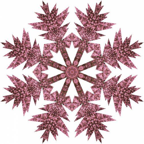 Pink Flake