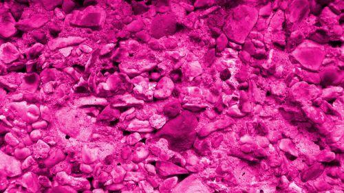 Pink Pebble Background Pattern
