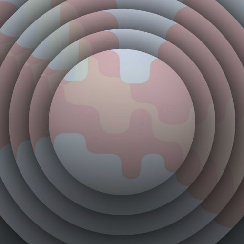 Pink Shapes Discs