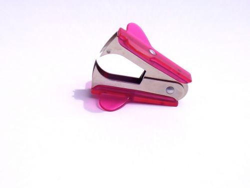 Pink Staple Remover