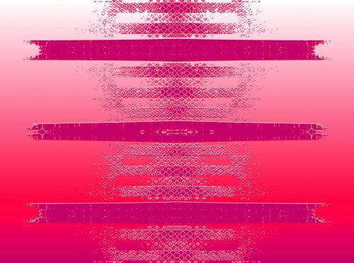 Pink Strips Imprinted