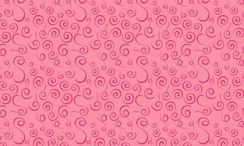 Pink Swirls Pattern