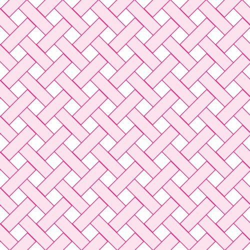 Pink Weave Wicker Pattern