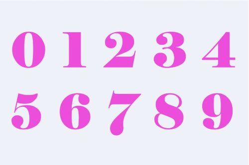 Pink Whole Numbers
