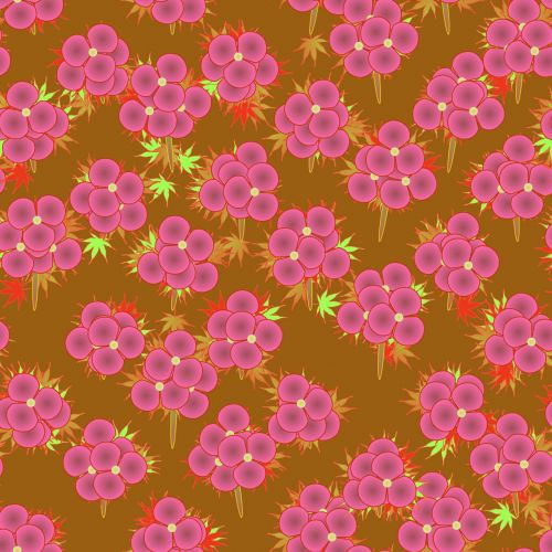 Pink Yellow Floral