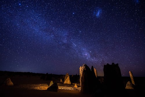 pinnacles  astro-photography  stars