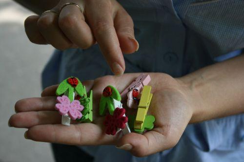 Pins In Hands
