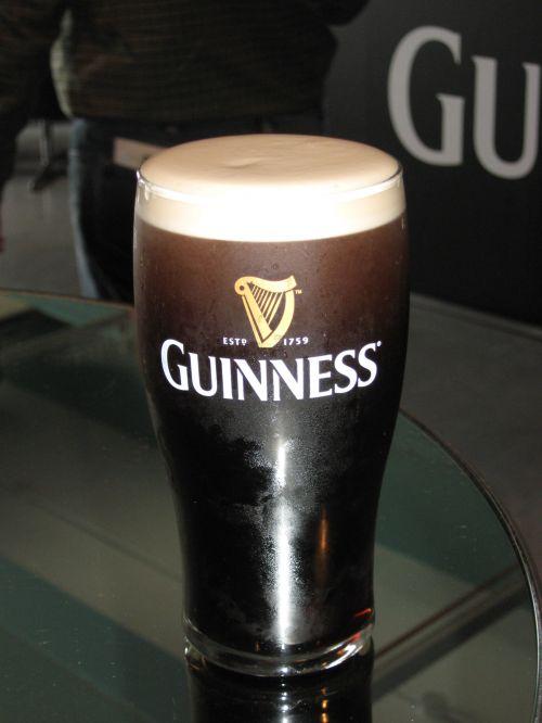 Pint Of Proper Guinness In Dublin
