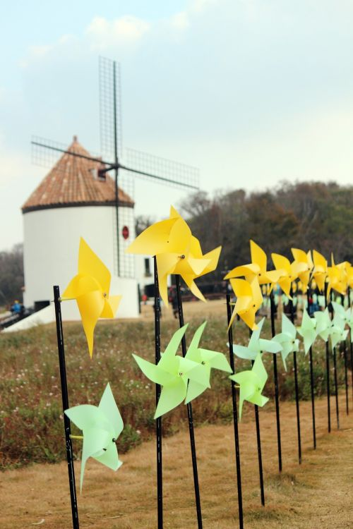 pinwheel wind windmill