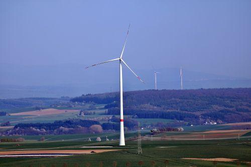 pinwheel landscape wind power