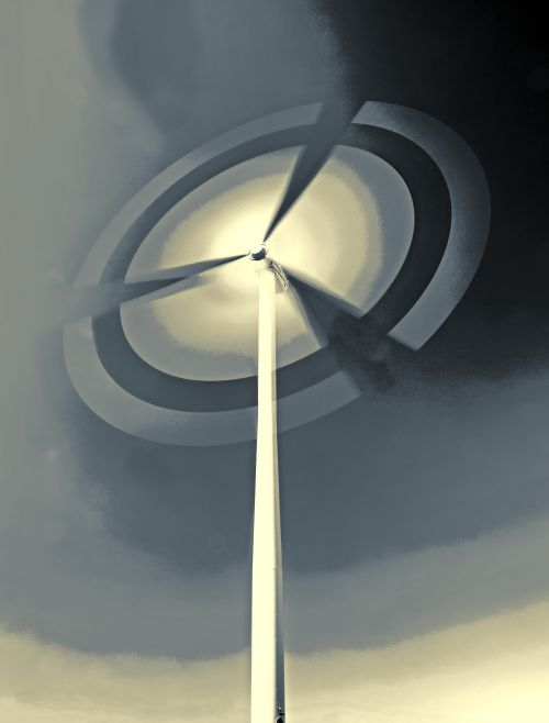 pinwheel wind power energy