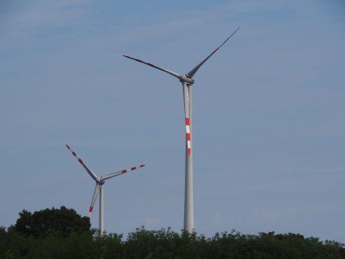 pinwheel wind power renewable energy