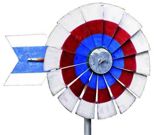 pinwheel windmill us-style
