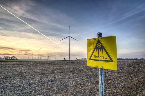 pinwheel  wind energy  warning